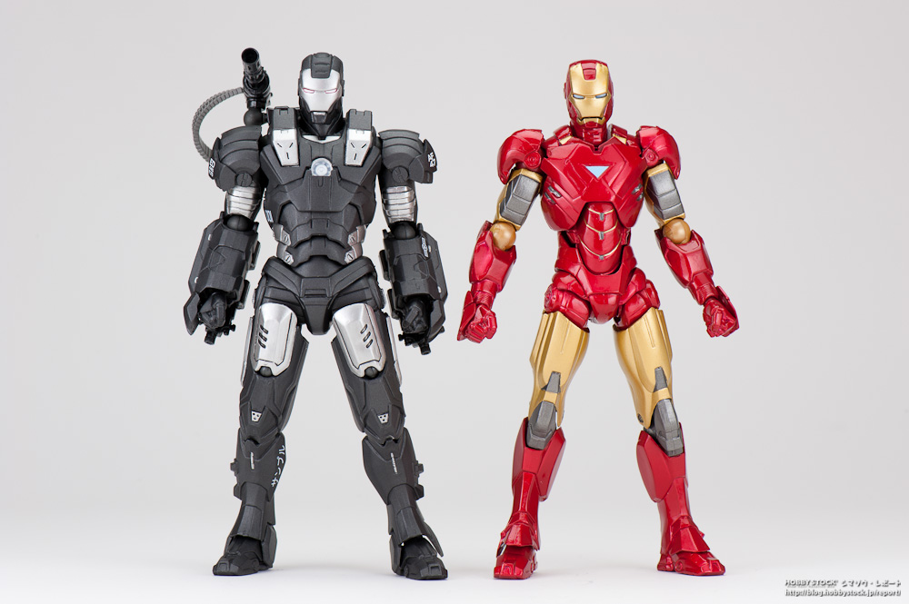 Iron Man 3 MMS Diecast War Machine Mark II Hot Toys  France Figurines