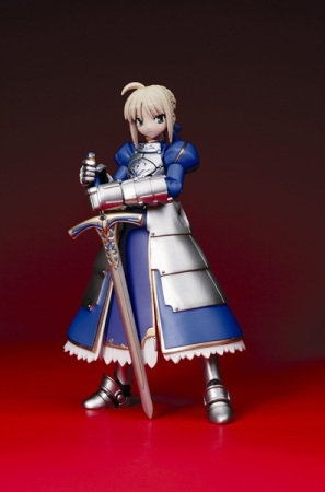 fiche de saber fate stay night acheter saber sur internet revoltech premier. Black Bedroom Furniture Sets. Home Design Ideas