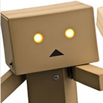 Danboard (Miura Hayasaka in cardboard box suit) - 2nd Generation