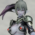 Veteran Warrior Echidna 2P Color - Queen's Blade