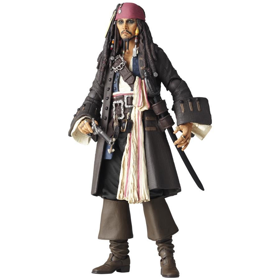 Revoltech jack sparrow pirates of the caribbean