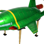 Thunderbird 2 Metallic Version - Revoltech SFX